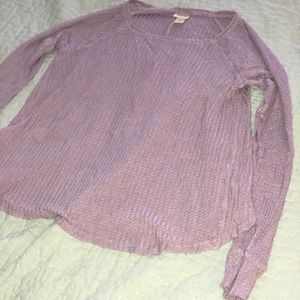 Very soft light purple sweater